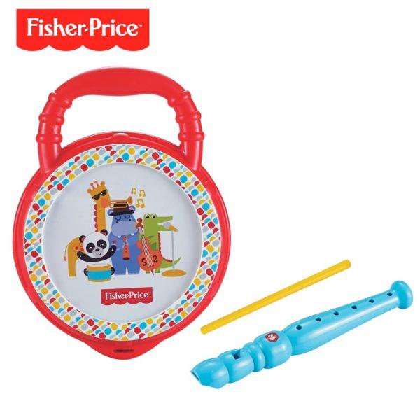 Set Tambor Flauta Fisher Price DFP6628