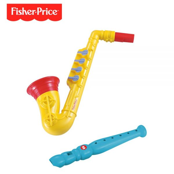 Set Saxo Am Flauta Fisher Price Dfp6626