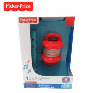 Set Acordeon Flauta Fisher Price Dfp6627