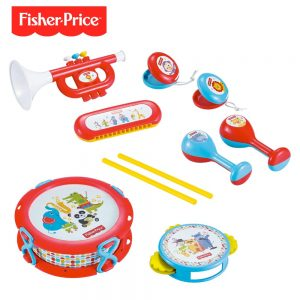 Set Banda 10 Pzs Fisher Price Dfp6610
