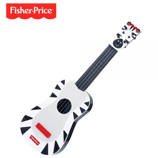 Guitarra Zebra Ng Fisher Price Dfp301z