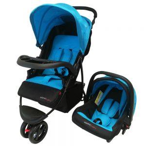 Coche 3 en 1 Happy Baby Evan Azul