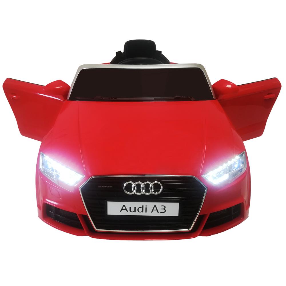 cd0d93dfc Carro Eléctrico Con Control Remoto Audi Rojo – BabyManía