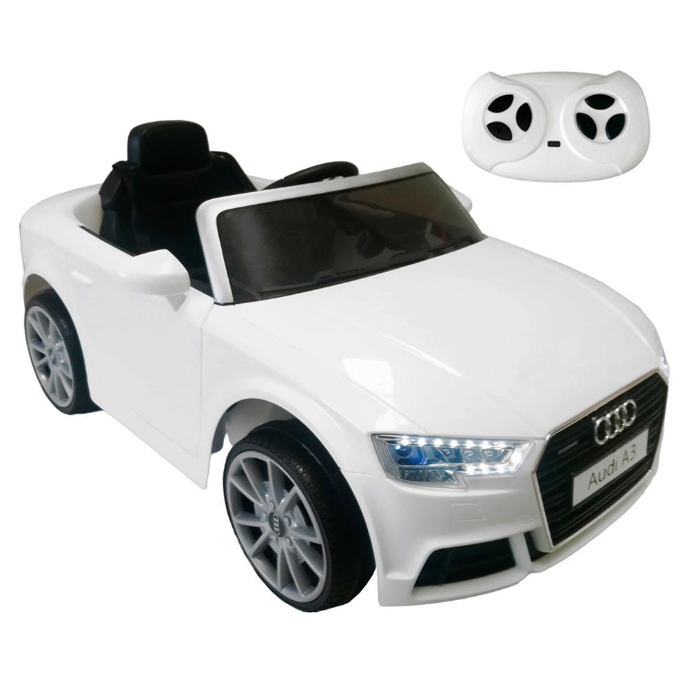 c044c422a Carro Eléctrico Con Control Remoto Audi Blanco – BabyManía