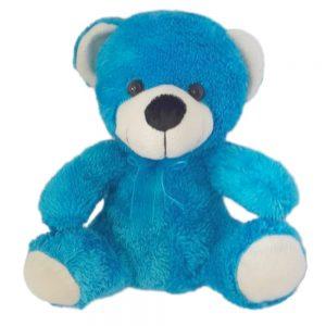 Peluche 23cm Oso azul claro Kisses Y003535