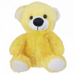 Peluche 23cm Oso amarillo claro Kisses Y003535