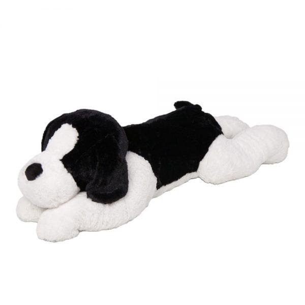 Peluche 90cm Perro negro Kisses P4998