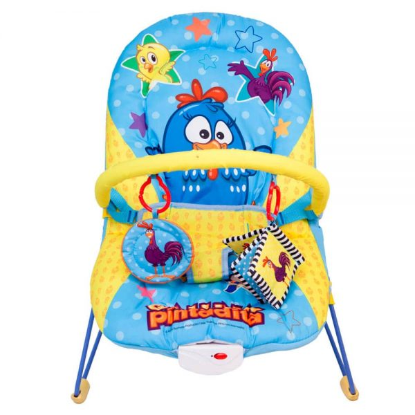 Silla Bouncer Musical Gallina Pintadita