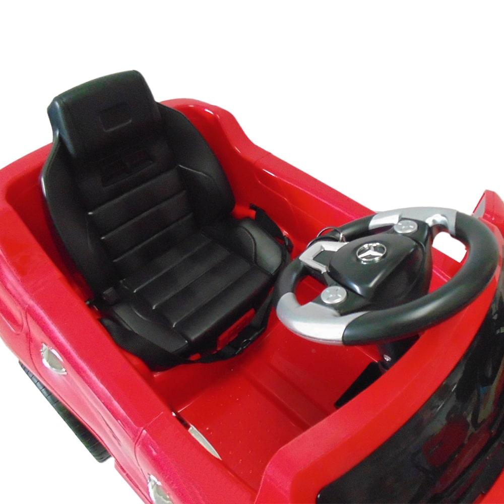 f07ea2811 Carro eléctrico Mercedes Benz rojo 7996 – BabyManía