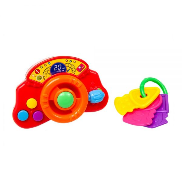 Timón musical + Llaves Infantoys JGLS003-LS010