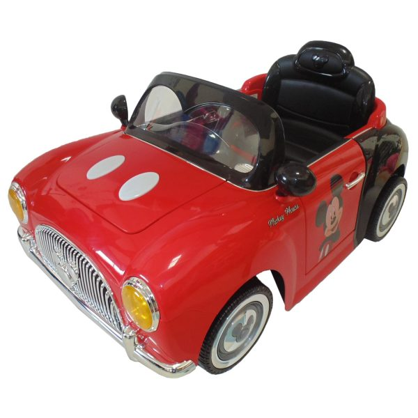 Carro eléctrico Disney Mickey D8010