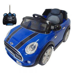 Carro eléctrico Mini Cooper JE195-AZUL