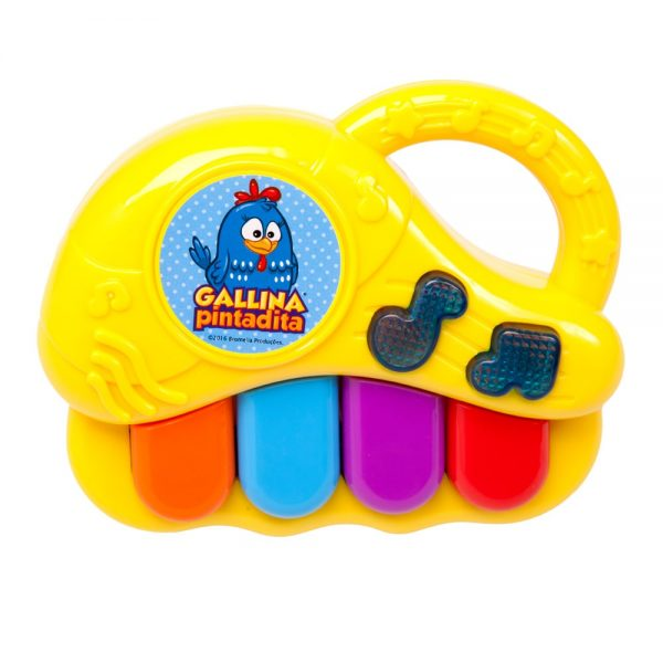 Piano musical Gallina Pintadita