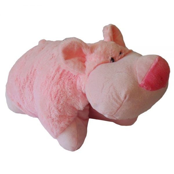 Peluche 50cm Cojín Cerdo Kisses P4750