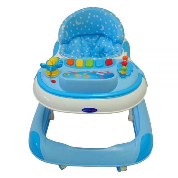 Caminador Musical Happy Baby Cm-001 Azul